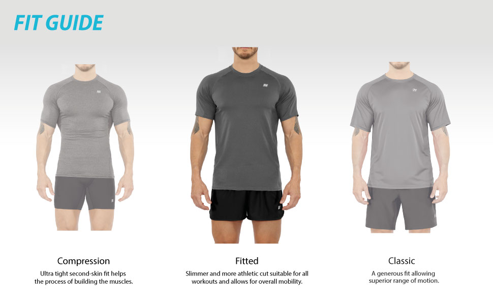 FITTED FIT SHORT SLEEVE T-SHIRT