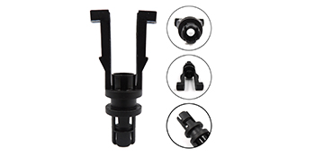 Central Port Spider Injector Retainer Poppet Clips