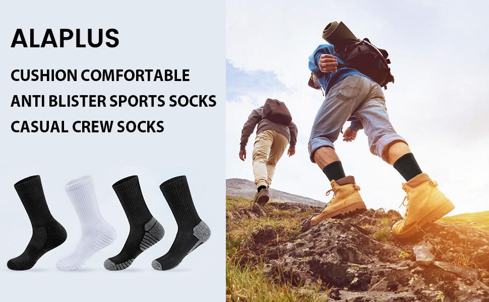 mens socks 9-11 walking socks work socks