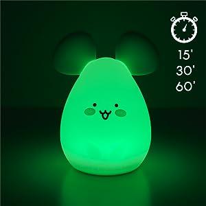 Lampa med touch-funktion för att sätta på och stänga av lampan