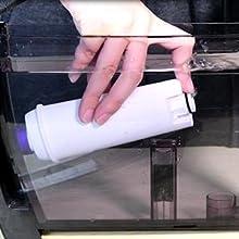 delonghi filter installation
