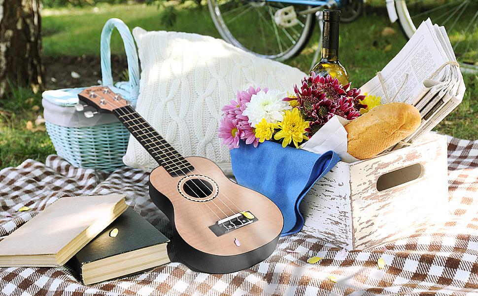 ukulele outdoor