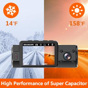 supercapacitor dashcam