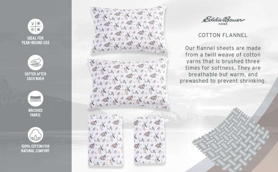 Cotton Flannel Sheet Sets