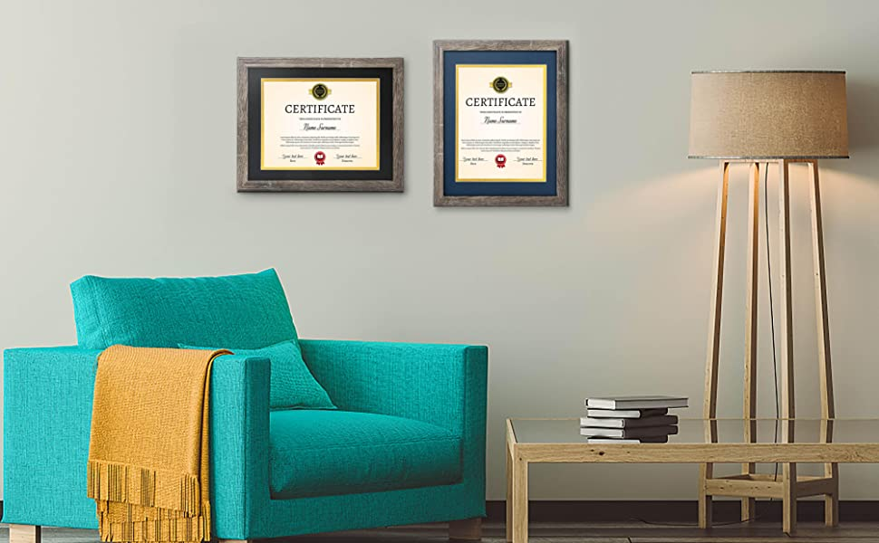 Perfect frame to place, secure, and display your achievements or certification awards.