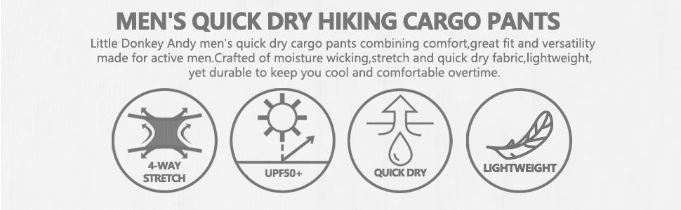 men's quick dry pants