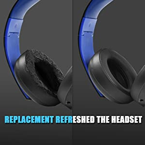 Replacement  Earpads Refreshed the Headset