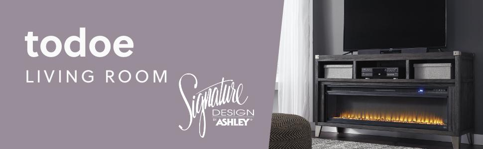 todoe living room collection signature design by ashley furniture occasional table set