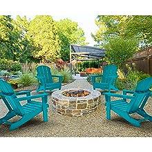 Set of 4 Adirondack Chairs