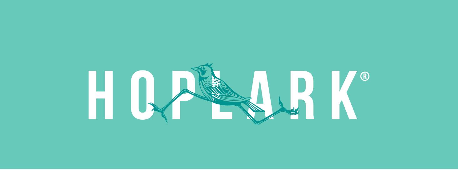 Hoplark HopWater Larky Logo hops sparkling water boulder colorado