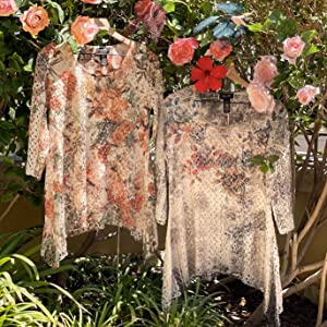 Fall Holidays Autumn Lace Print Floral
