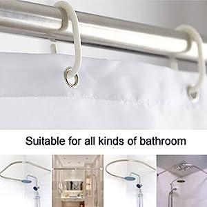 ArtSocket Bathroom Shower curtain Set