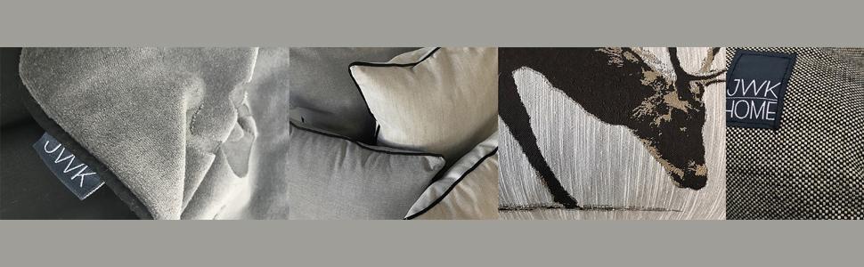 Kissen aus gewebtem Stoff und Boutique Tagesdecken