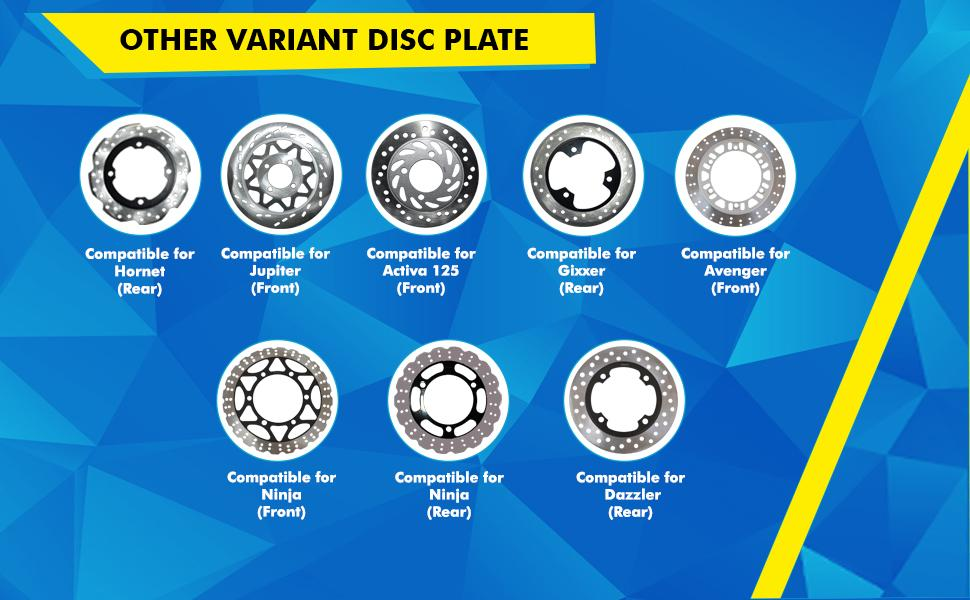 Other variant disc plates from NIKAVI