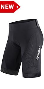 Mens Padded Bike Shorts