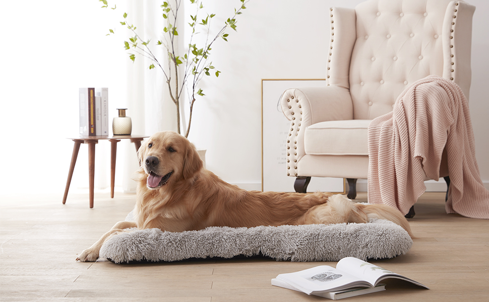 CALMING DOG CRATE BED