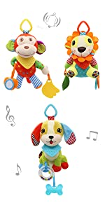Baby Hanging Rattles Toys