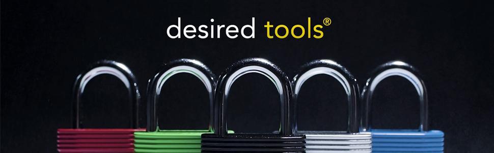desired tools padlock