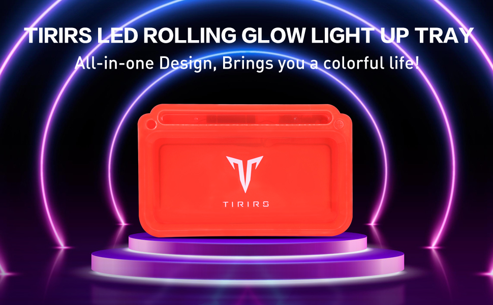 LED Rolling Glow Light Up Tray-1