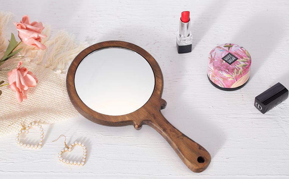 hand mirrors with handle