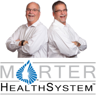 Morter Healthsystem logo with doctors