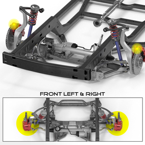 BC Installation Position: Front Left and Right, Driver and Passenger Side