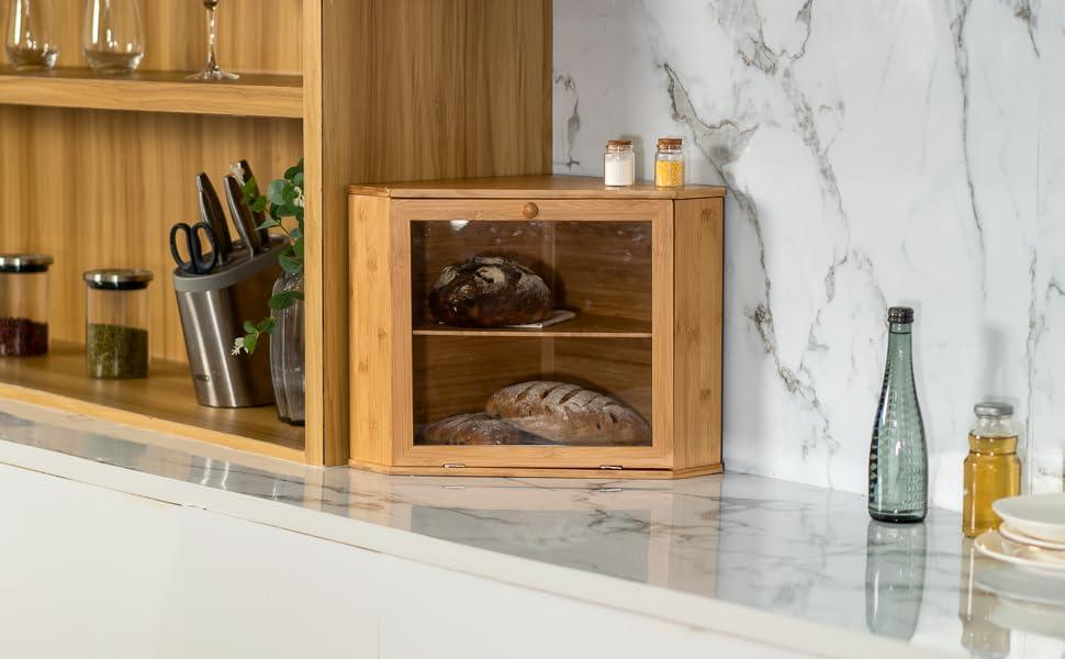Corner Bread Box