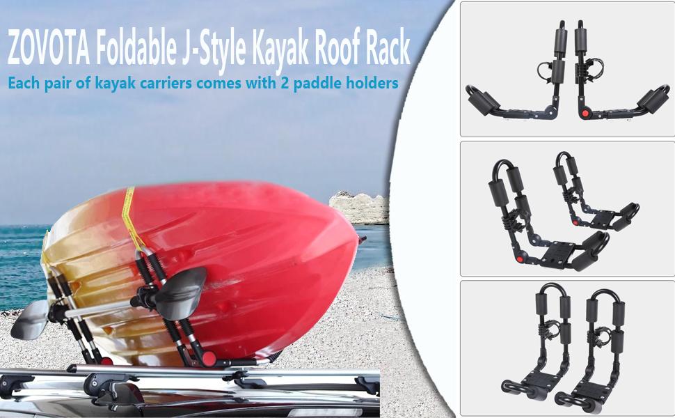 Foldable Kayak Rack