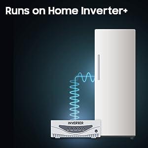 Runs on Home Inverter+