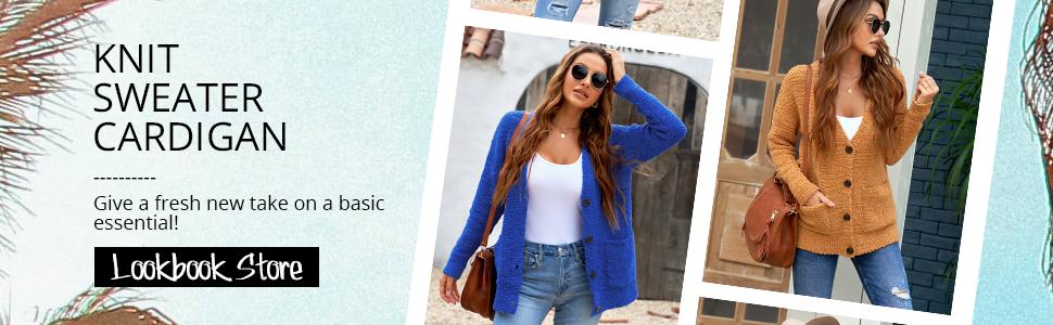 Lookbook Store Women Fuzzy Cardigan Sweater Girls Long Vneck Button Outerwear Coat Sherpa Outwear