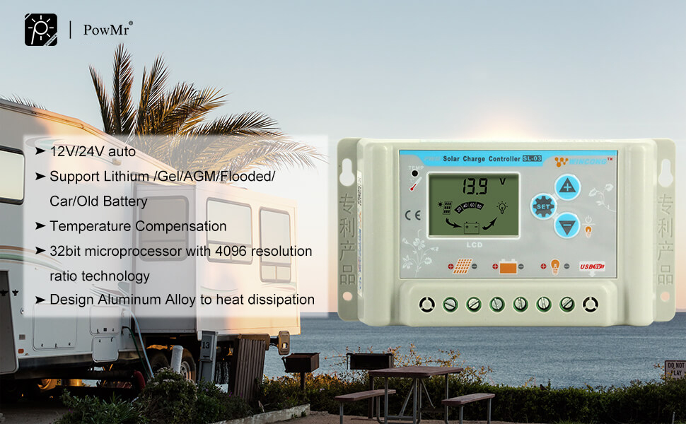 solar charge controller lithium