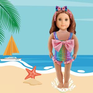 American doll girl