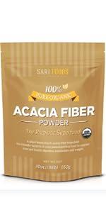 acacia fiber powder packet