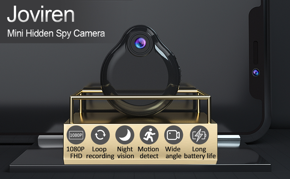 Joviren mini hidden wifi spy camera