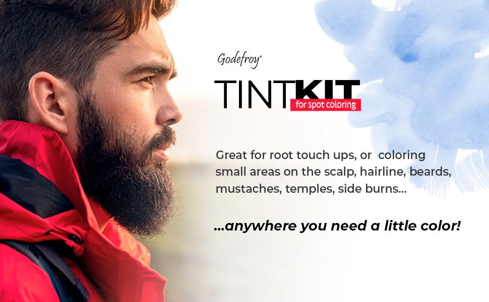 mean beard dye color tint hair color coloring light brown medium salon roots scalp brow