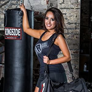 Ringside gym bag, ringside heavy bag, ringside apparel, boxing gym bag, boxing heavy bag, punching