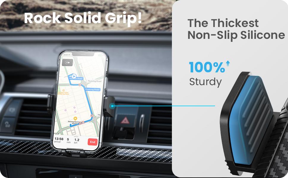 phone holder for car vent
