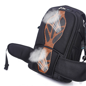 Breathable and comfortable carrying system