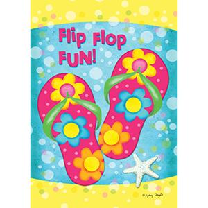 Summer flip flop flag design