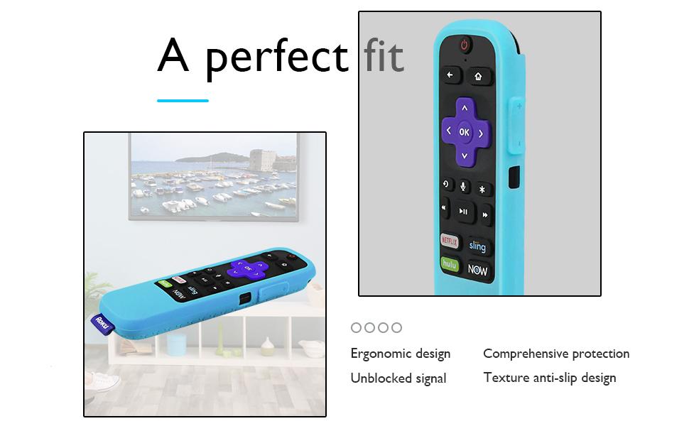 Roku tv  remote cover