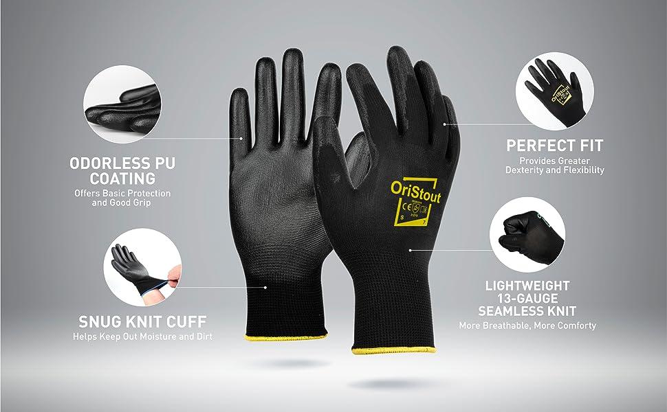 work glove men bulk pack