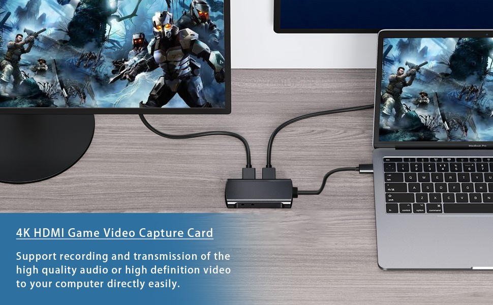 4K HDMI GAME CAPTURE