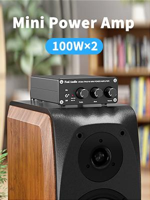 2.0 Channel Simple Powerful Stereo Amplifier TB10A