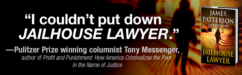 I couldn't put down Jailhouse Lawyer said Pulitzer Prize winning columnist Tony Messenger