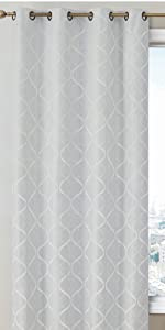 Versailles Collection Grommet Window Curtain
