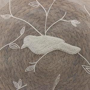 3D Embroidered Bird