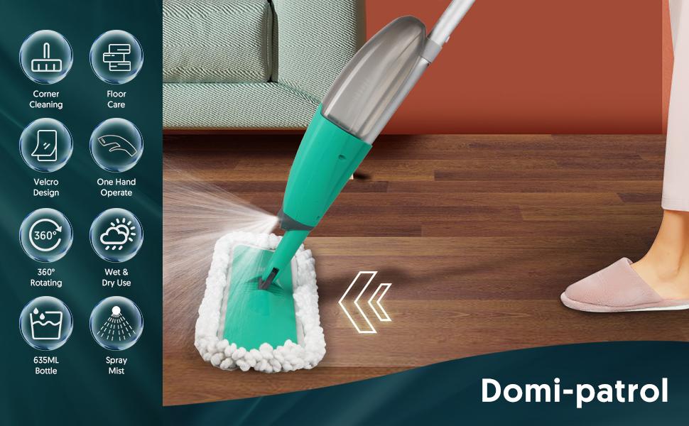 spray mop floor mop with sprayer