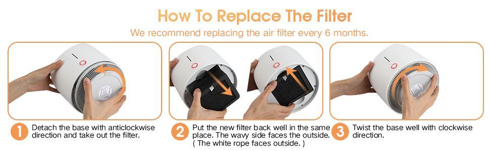 portable air purifier cleaner