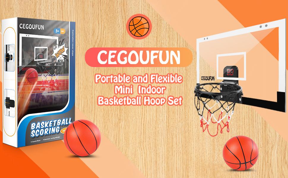Basketball hoop indoor