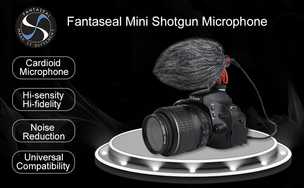 Mini Shotgun Microphone